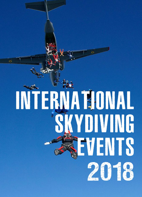 International Skydiving Events - 2018